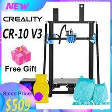 Creality 3d ender 3 v2/CR-10 v3 atualização de alta precisão impressora 3d kit diy motorista grande tamanho de impressão com 8g sdcard pla filamento
