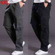 סתיו וחורף עבה מודלים oversize מכנסיים גברים של מכנסיים גברים רופפים של מכנסיים רב כיס מכנסי קזואל גברים