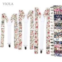 No.21-31 impresso 3 tamanhos floral algodão suspensórios masculino feminino criança cintas alças ajustáveis menino calças menina saia acessório presente
