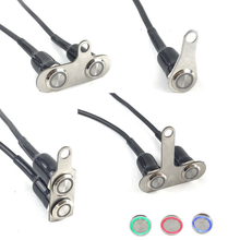 Universal Motorcycle Flashing Switch Stainless Steel LED Light Switch ON OFF Button Handlebar Mount Waterproof Fog Light