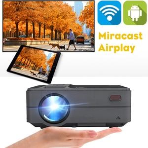 Image 2 - Caiwei C180 Mini projecteur intelligent hd TV Mobile Android petit projecteur dans les projecteurs de cinéma maison projecteurs vidéo dextérieur