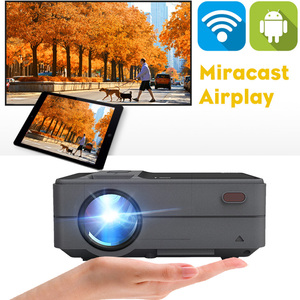Image 2 - Caiwei C180 Smart Mini Projectorhd  Mobile TV Android Small Beamer Projector In Home Theater Projectors Video outdoor Projectors