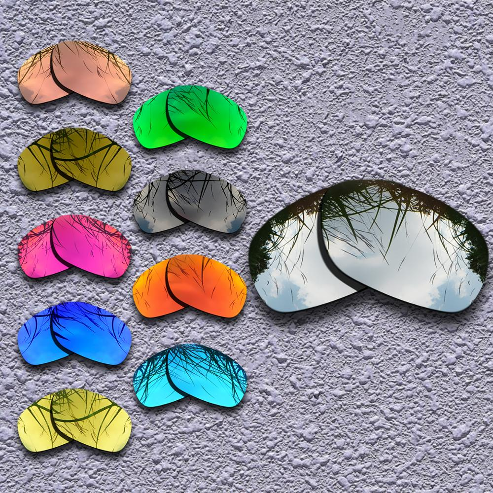 2 Pairs Polarized Replacement Lenses for Oakley Ten-X Sunglasses - Multiple Choices