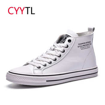 CYYTL 2019 Winter Shoes Men High-top Fashion Leather Sneakers Casual Lace-up Outdoor walking Tenis Masculino Zapatillas Hombre - DISCOUNT ITEM  42% OFF All Category