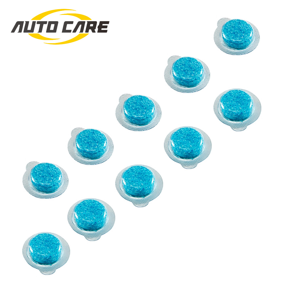 10pcs Solid Car Glass Cleaner Fine Auto Windshield Wash 4 Liter Water For 1pc Wiper Super Concentrated Window Cleaner