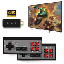 Built-In 568 Mini Video Game Console Retro Classic Wireless Controller Joystick HDMI Gaming Player(China)