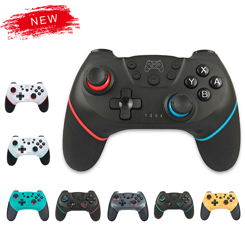 2020 Bluetooth Pro Gamepad für N Schalter NS Schalter NS Schalter Konsole Wireless Gamepad Video Spiel USB Joystick controller Control|Gamepads|   -