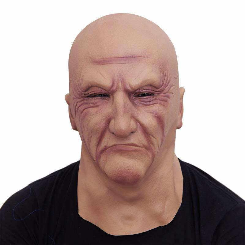 Маска на Хэллоуин маскарадная латексная маска на голову грубое костюм принадлежности для косплея ужасные Гангстерские аксессуары для косплея S10