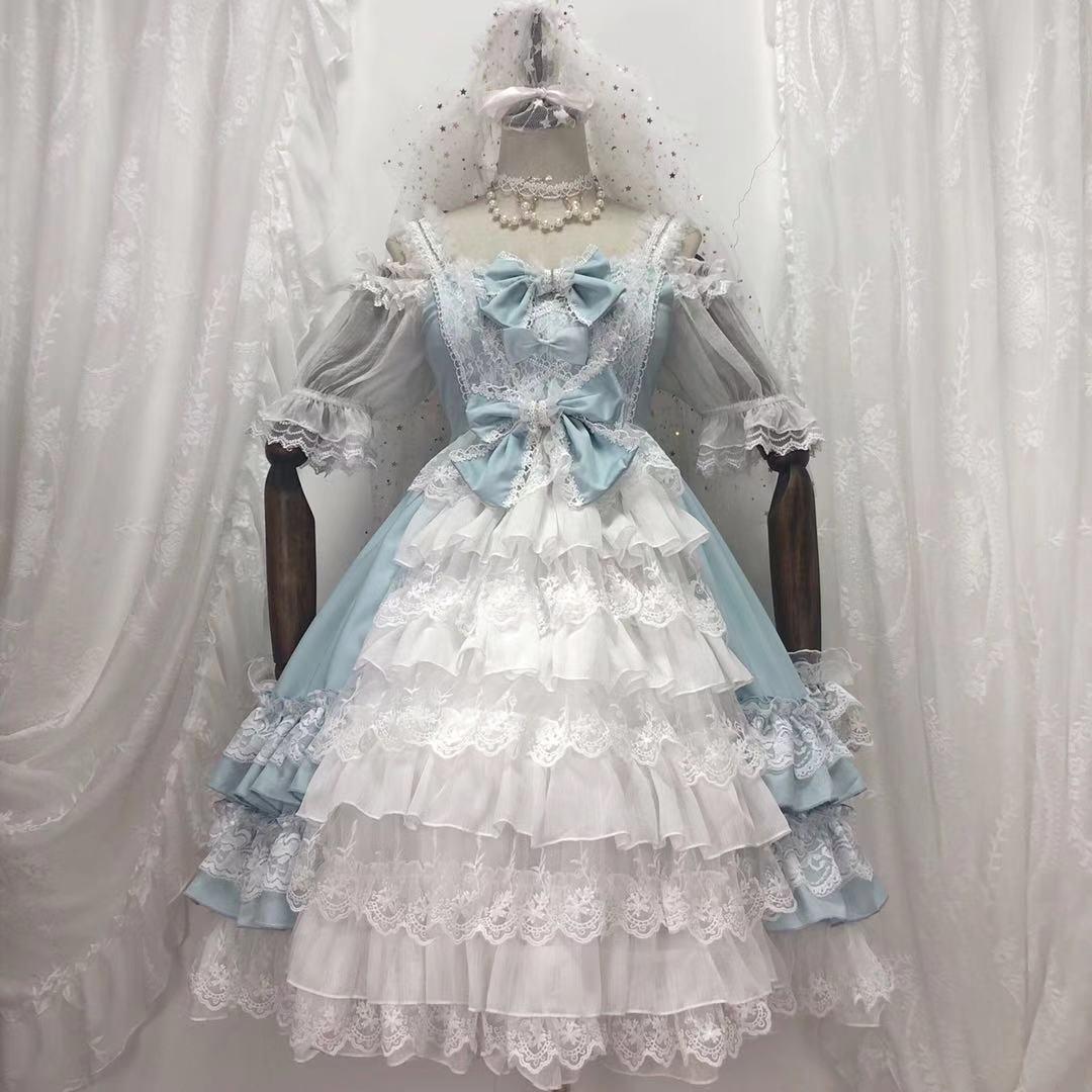 menina gothic lolita op cosplay