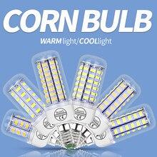 Lampe en épis de maïs G9, E27 Bombilla E14, ampoule Led Gu10, 24, 36, 48, 56, 69led, chandelle 5730SMD Lampara, éclairage de maison B22 2835