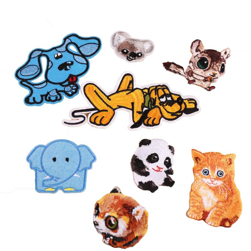 Cloth Stickers Repair Clothe Decoration Embroidery Patch Stickers Chapter Applique Ironing Clothing Sewing Supplies For Clothing