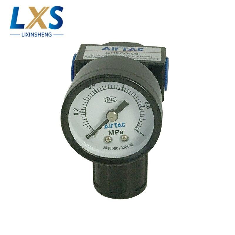AIRTAC SR Serices Pressure Regulating Valve SR200-08 Pneumatic Control Valve
