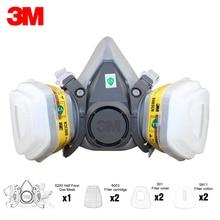 Painting Protective-Mask 3m 6200 Respirator 6003-FILTER Spraying-Acid-Gas Half-Face-Gas-Mask