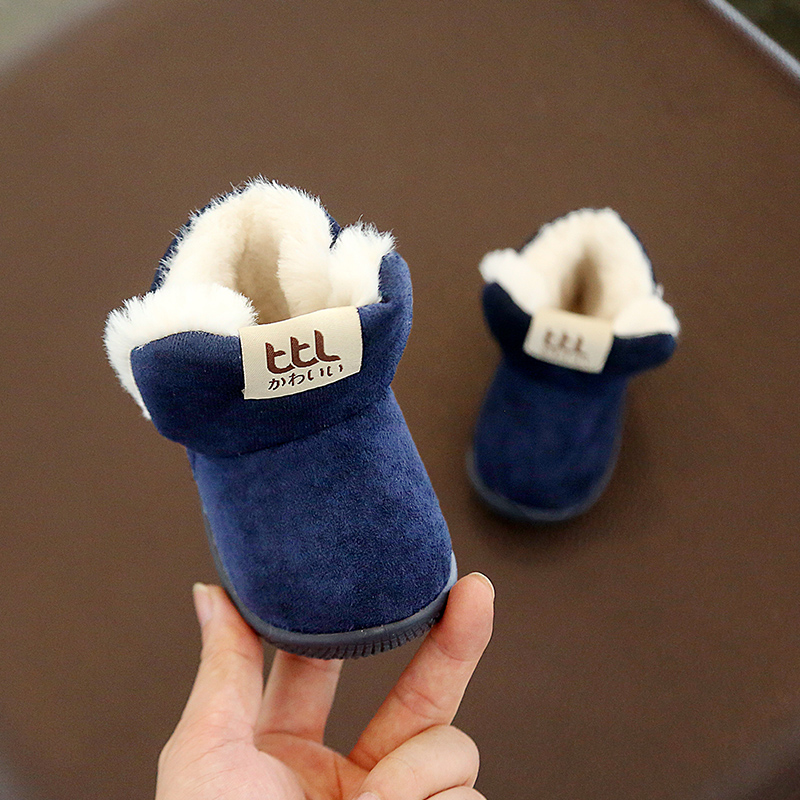 Winter Warm Elastic Band Snow Boots 2
