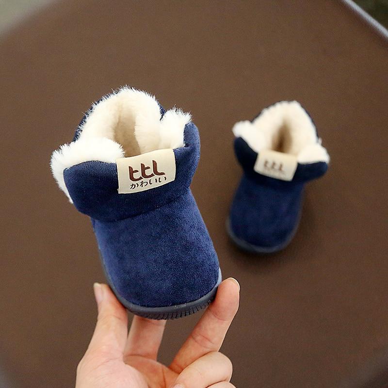 Winter Warm Elastic Band Snow Boots 2