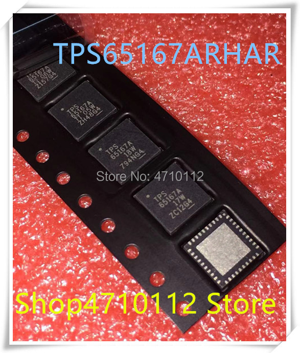 NEW 10PCS/LOT TPS65167ARHAR TPS65167A TPS65167 TPS 65167A QFN-40 IC