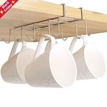 Rack Shelf-Dish-Hanger Chest-Storage Kitchen-Organizer Cupboard Hanging Stainless-Steel