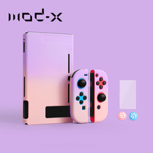 ModX for Nintendo Nintend Switch Case NS NX Console Protective Hard Case Shell for Nintendos Switch Joy Con Colorful Back Cover