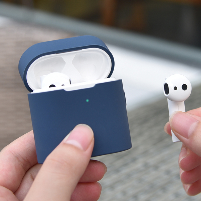 Protection Case For Xiaomi Mi Air 2 Wireless Bluetooth Headset Protective Cover Silicone Case For Xiaomi Airdots Pro 2