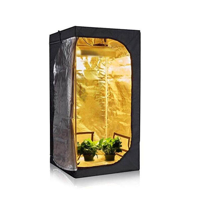 40X40X120cm 60X60X140cm LED Grow Tent Indoor Hydroponics Grow Room Box  Greenhouse Grow Light Lamp Tent Grow