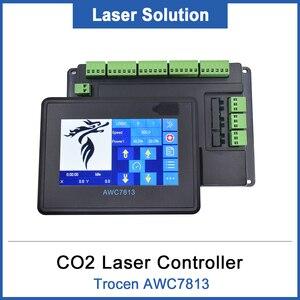 Image 1 - Sistema de controlador láser Co2 DSP, reemplazo de 708S 708C LITE para máquina de grabado y corte láser Co2 AWC7813