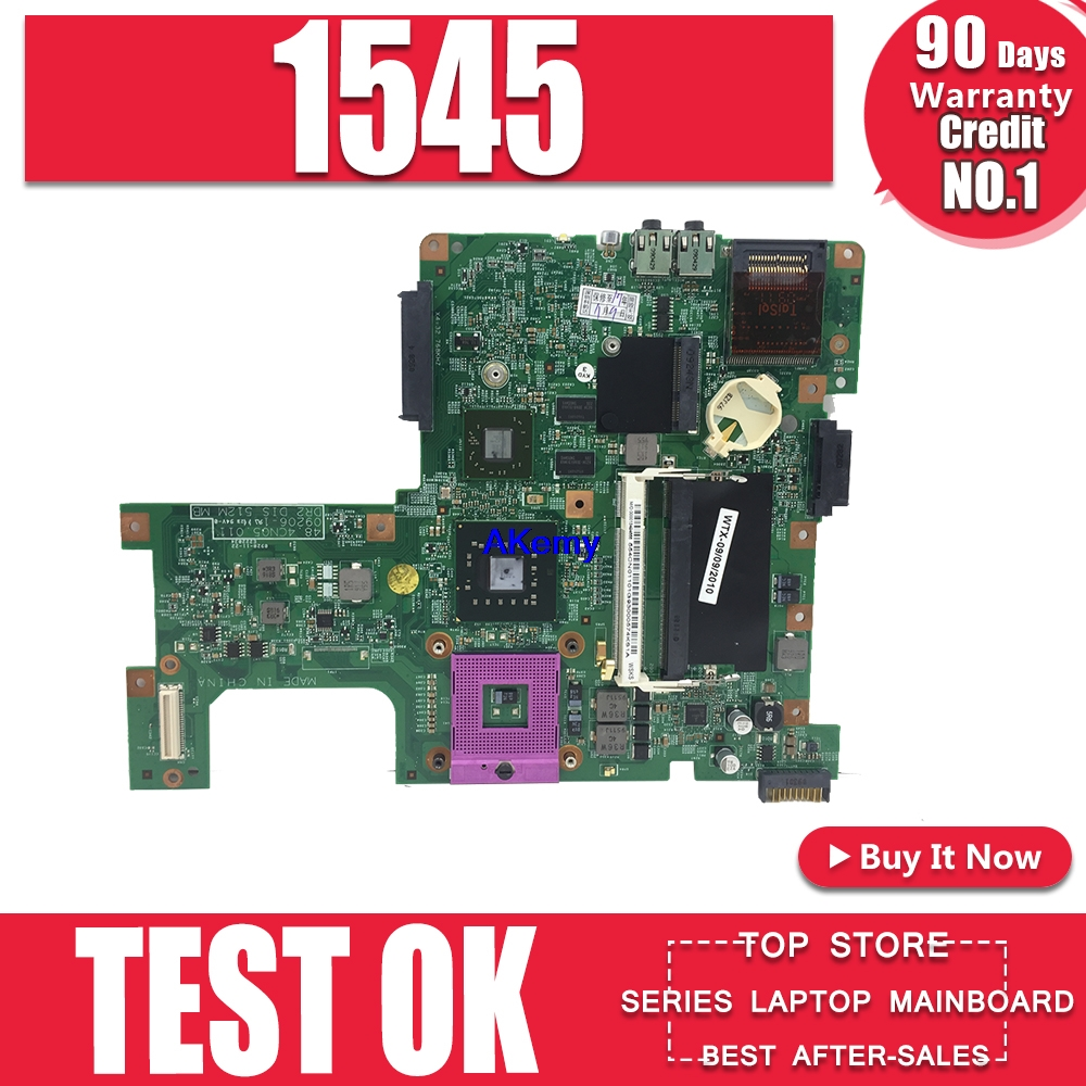 For Dell 1545 1750 Laptop Motherboard CN-0HPKP9 0HPKP9 09206-1 48.4CN05-011 100% Working
