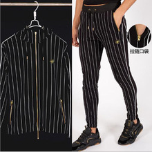 Mens Tracksuit Sports Suit Gym Fitness Compression Clothes Running Jogging Sport Wear Exercise Workout Tights