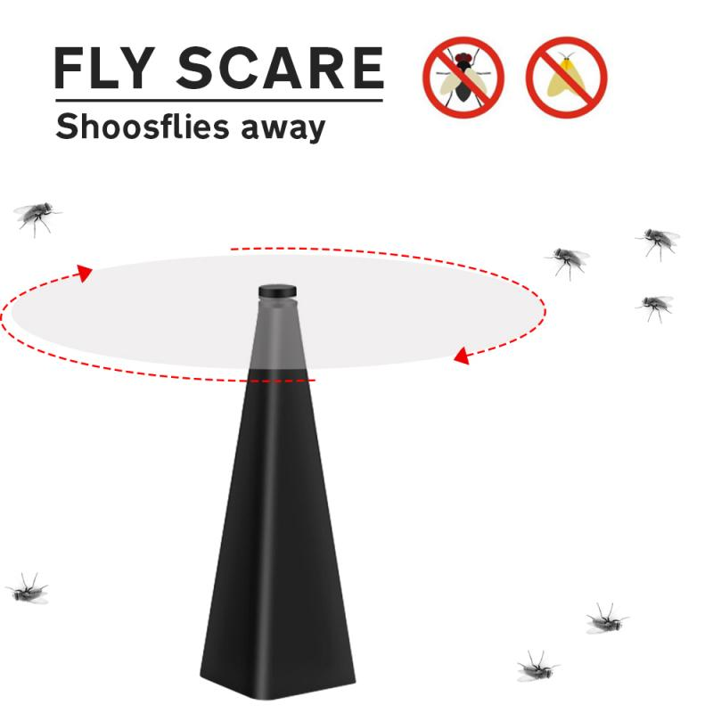 Multifunctional Fan Leaf Repeller Household Automatic Fly Catcher Without Battery Outdoor Meal Mosquito Repellents Insect Killer