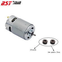 MOTOR RS550 (12 TANDEN GEAR) 20000RPM 7.2 V/9.6 V/10.8 V/12 V/14 V/14.4 V/ 16.8 V/18 V/21 V/24 V/25 V VOOR BOSCH MAKITA HITACHI ACCUBOORMACHINE(China)