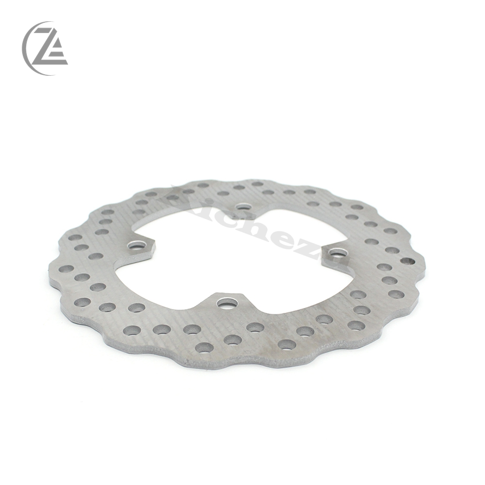 ACZ Motorcycle Floating Rear <font><b>Brake</b></font> <font><b>Disc</b></font> Rotor Stainless Steel <font><b>Brake</b></font> Disk For <font><b>KAWASAKI</b></font> ER-6N ER-6F ZX-6R ZX-10R ZX-9R Z1000 <font><b>Z750</b></font> image