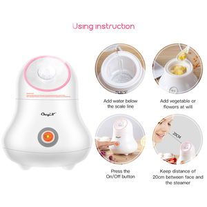 Image 3 - Lady Facial Moisturizing Sprayer Nano Ionic Facial Steamer Sauna Spa Steaming Tool Women Face Humidifier Pore Open Deep Cleaning