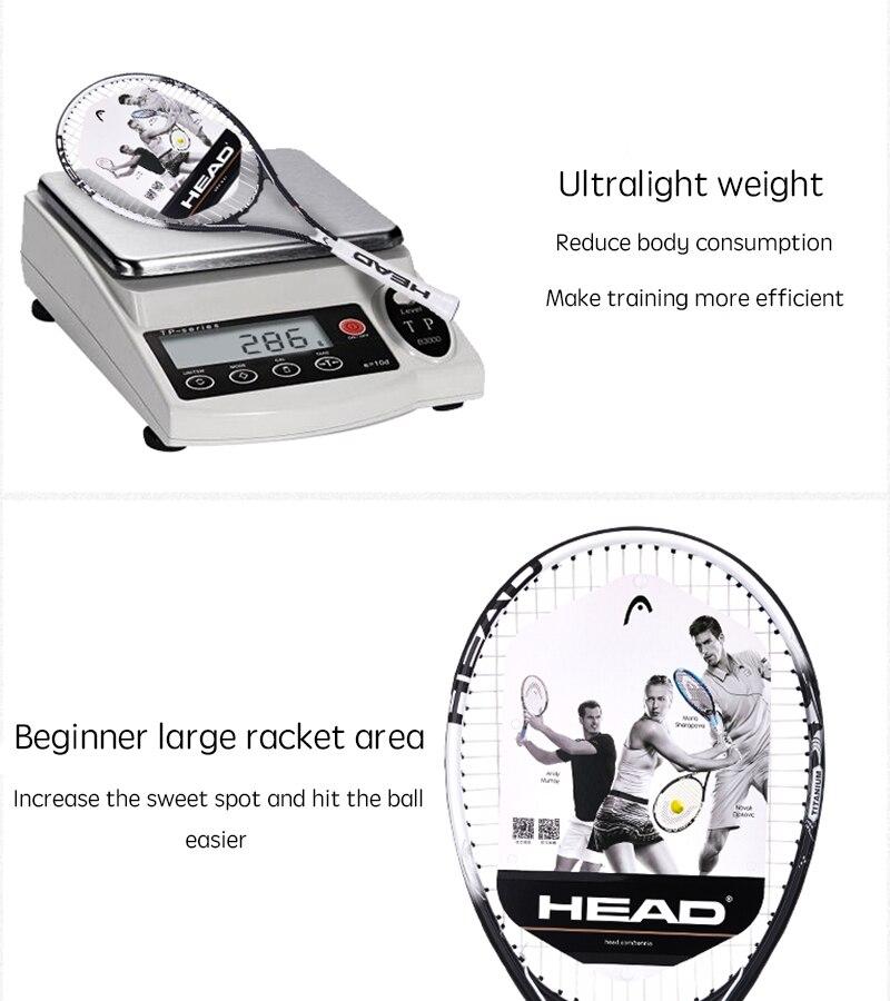 HEAD Tennis Racket Djokovic