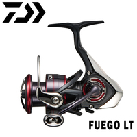 DAIWA Fishing Reel FUEGO LT Seawater Spinning Reels 1000-6000D Light & Tough Body 6+1BB 5-12kg Power 5.1:1/5.2:1/5.3:1 Low Ratio
