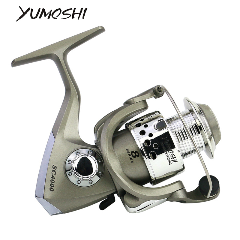 Pescar Wheel  Fishing Tackle 5.5:1 Ratio Fishing Spinning Reel SC1000-7000 Series Fishing Reels Fishing Tools Professional Hot