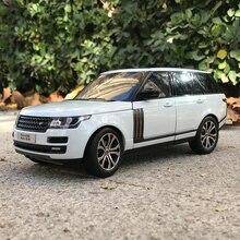 Welly gta1: 18 land rover range rover suv simulação liga modelo de carro coleção presente decoração brinquedo