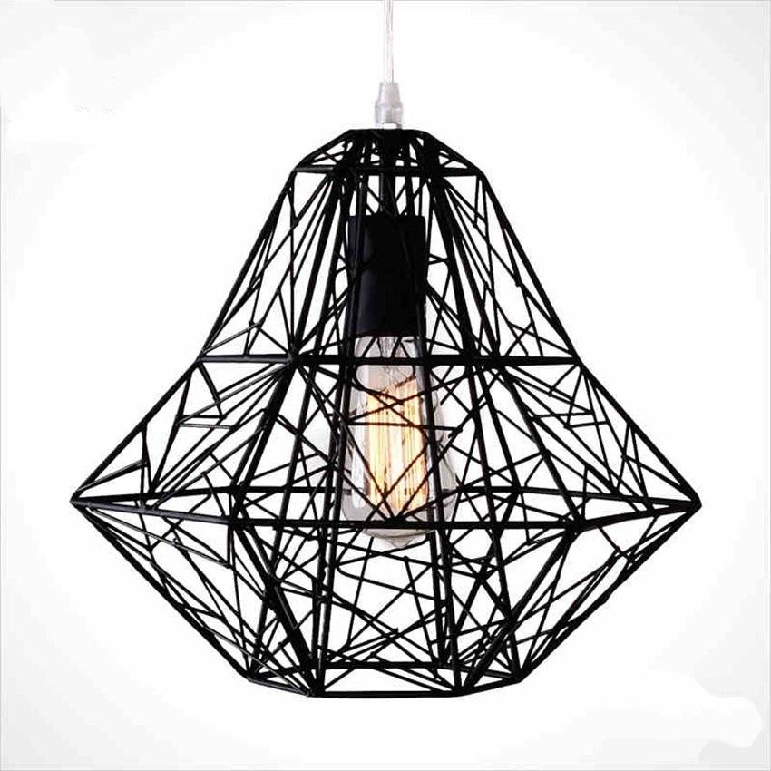 American Vintage Hollow-out Pendant Lamp Creative Loft Pendant Lights For Living Room Restaurant Bar Cafe Decor Light Fixtures