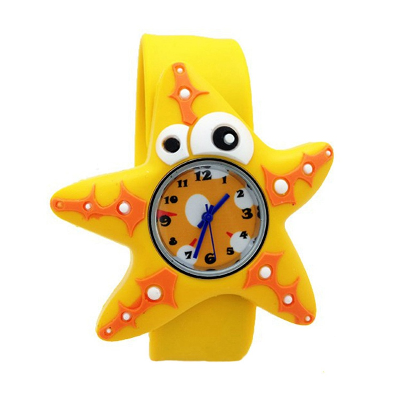 Children's Watches Cartoon Kids Wrist Baby Watch Clock Quartz Watches for Gifts Relogio Montre starfish