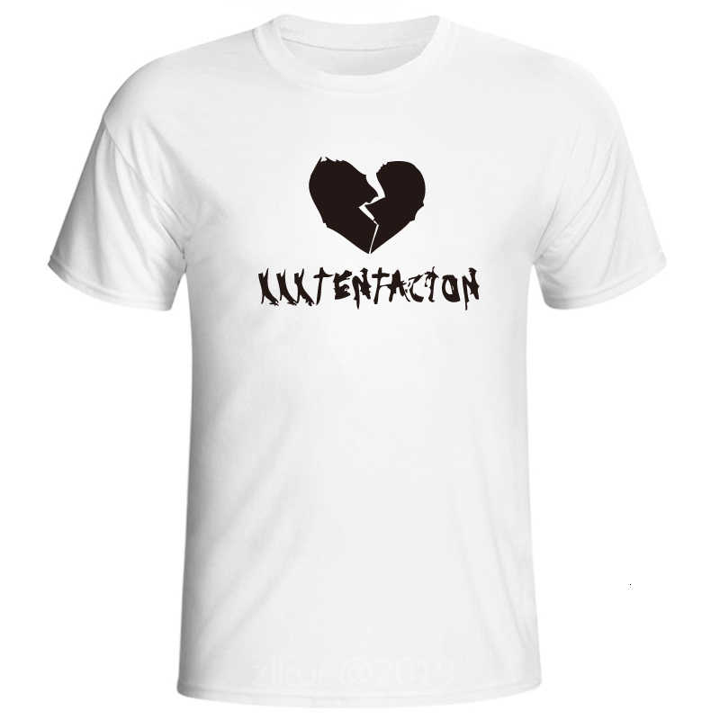 2019 Nieuwste Mode Man Tshirt Xxxtentacion Zomer Mode T-shirt Casual Wit Grappige Cartoon Print T-shirt Hip Pop Tops Tee