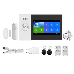 PG-107 Wireless Home WIFI GSM GPRS Einbrecher Home Security mit Motion Detektor Sensor Einbrecher Alarm APP Control EU Stecker