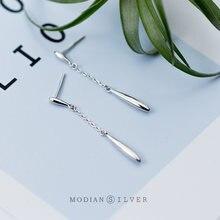 Modian высокое качество 925 стерлингового серебра в форме капли