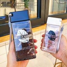 Креативная бутылка для воды joudoo 350 мл пластиковые спортивные