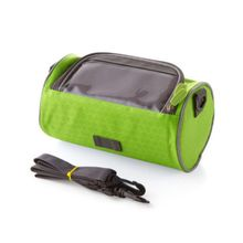 Waterproof Bicycle Handlebar Bag with Transparent Pouch and Adjustable Strap High-Capacity Cycling Front Pack