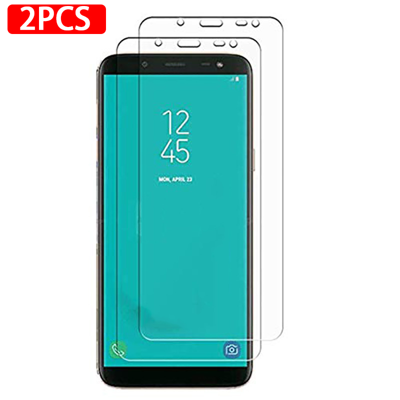 2pcs 9H tempered glass <font><b>screen</b></font> protector on the for <font><b>Samsung</b></font> Galaxy <font><b>J2</b></font> Prime G530 J4 Plus <font><b>2018</b></font> J 4 J4plus J2prime protective films image