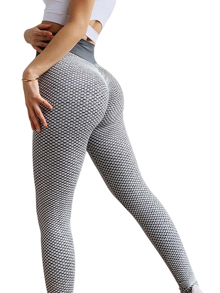 SVOKOR Women Leggings Sportswear Seamless-Pants Fitness Polyester High-Waist Mujer Casual