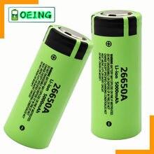 Batterie lithium rechargeable, 100% originale, 20a, 26650A, 26650 V, 5100mA, 3.7 Convient pour lampe de poche
