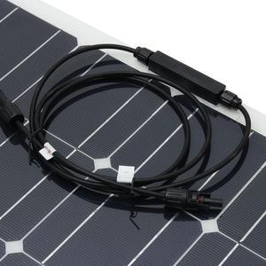 Image 4 - 200W เท่ากับ 2 PCS 100W แผงพลังงานแสงอาทิตย์ Monocrystalline SOLAR CELL พลังงานแสงอาทิตย์ 12 V แบตเตอรี่ Charger สำหรับ RV บ้านเรือ 200W 300 W