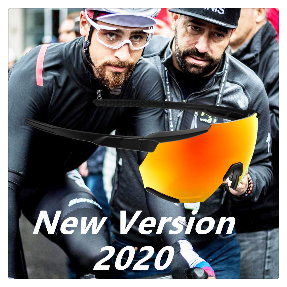 Racetrap 2020 Peter Limited 100 RP Cycling Glasses Men Bicycle Glasses Mountain MTB Outdoor Red Sunglasses Oculos Gafas Ciclismo