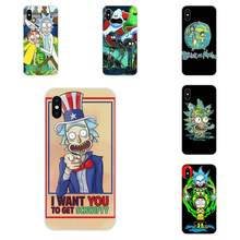 Funny Cartoon Comic Meme Rick And Morty For Huawei Honor 4C 5A 5C 5X 6 6A 6X 7 7A 7C 7X 8 8C 8S 9 10 10i 20 20i Lite Pro(China)
