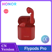 Honor-auriculares inalámbricos Flypods Pro TWS, por Bluetooth, Hi-Fi, impermeables, IP54, Control de pulsación, carga inalámbrica