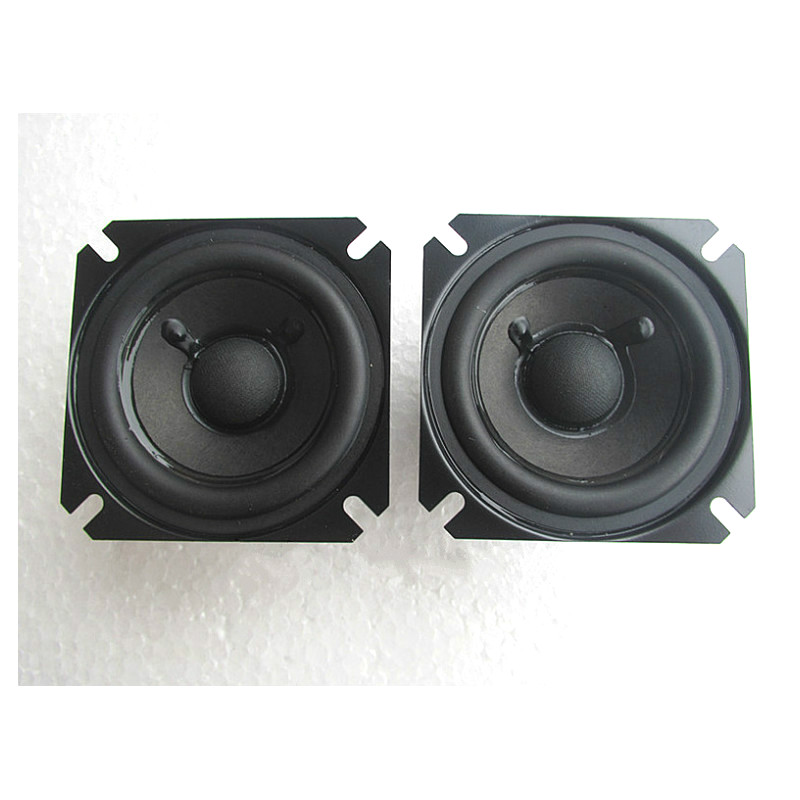 SOTAMIA 2Pcs 2,5 Inch Tragbare Hifi Fieber Full Range Audio Lautsprecher 4 Ohm 15W Lautsprecher Heimkino Sound system Lautsprecher